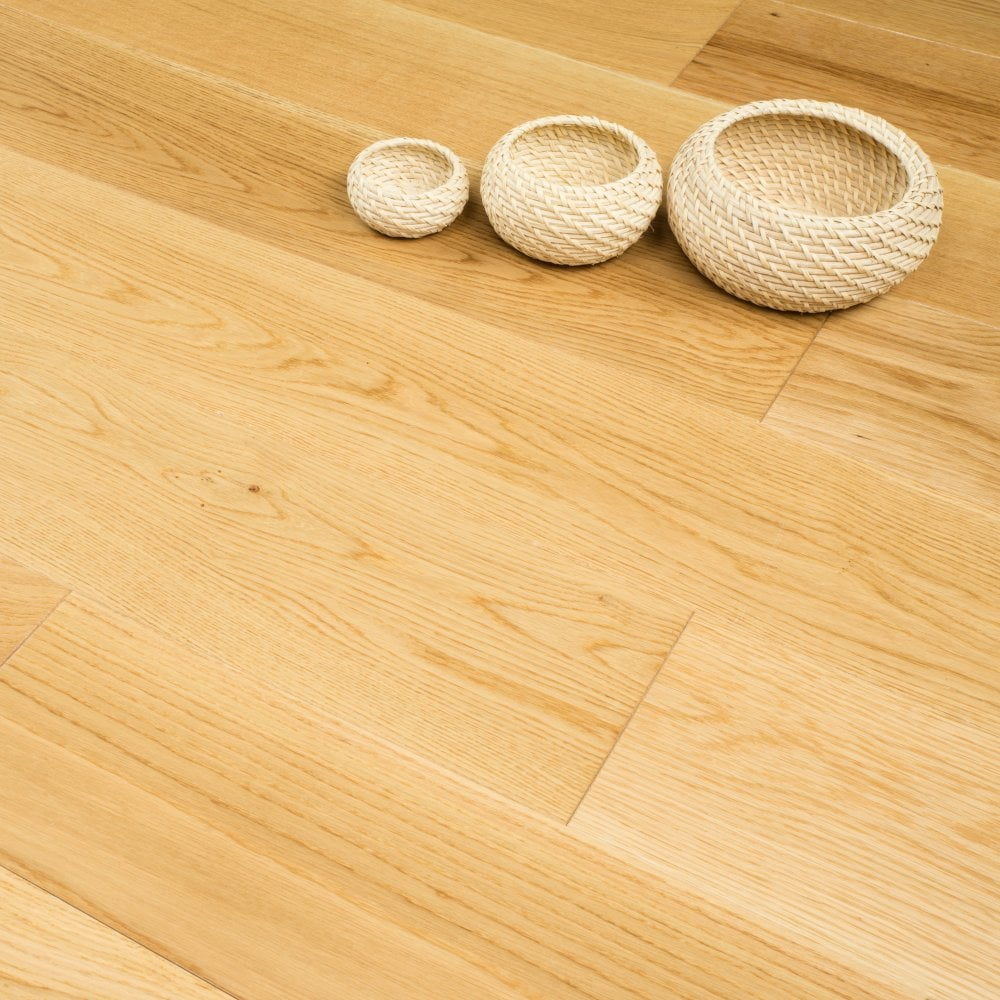 Clearance Hailswood Solid Oak 20mm X 190mm Lacquered