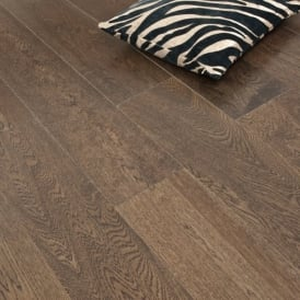 **Clearance** Platinum Series Engineered Flooring Clic 14/3 x 189mm Chocolate 1.81m2
