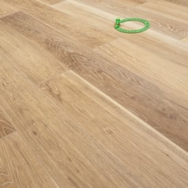 **Clearance** Platinum Series XL Engineered Flooring Clic 14/3mm x 189mm Oak Gracious Silver 2.81m2