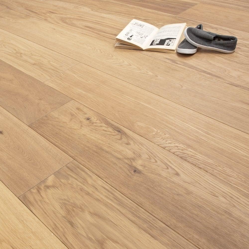 Platinum Series Clic 189mm Oak Oiled Engineered Flooring