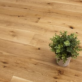 **Clearance** Titanium Series Engineered Flooring 15/4 x 189mm Oak Lacquered 2.81m2