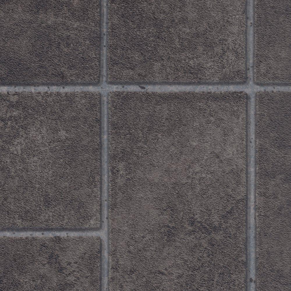 Columbus jerome 990 tile cushioned vinyl flooring for Cushioned linoleum flooring