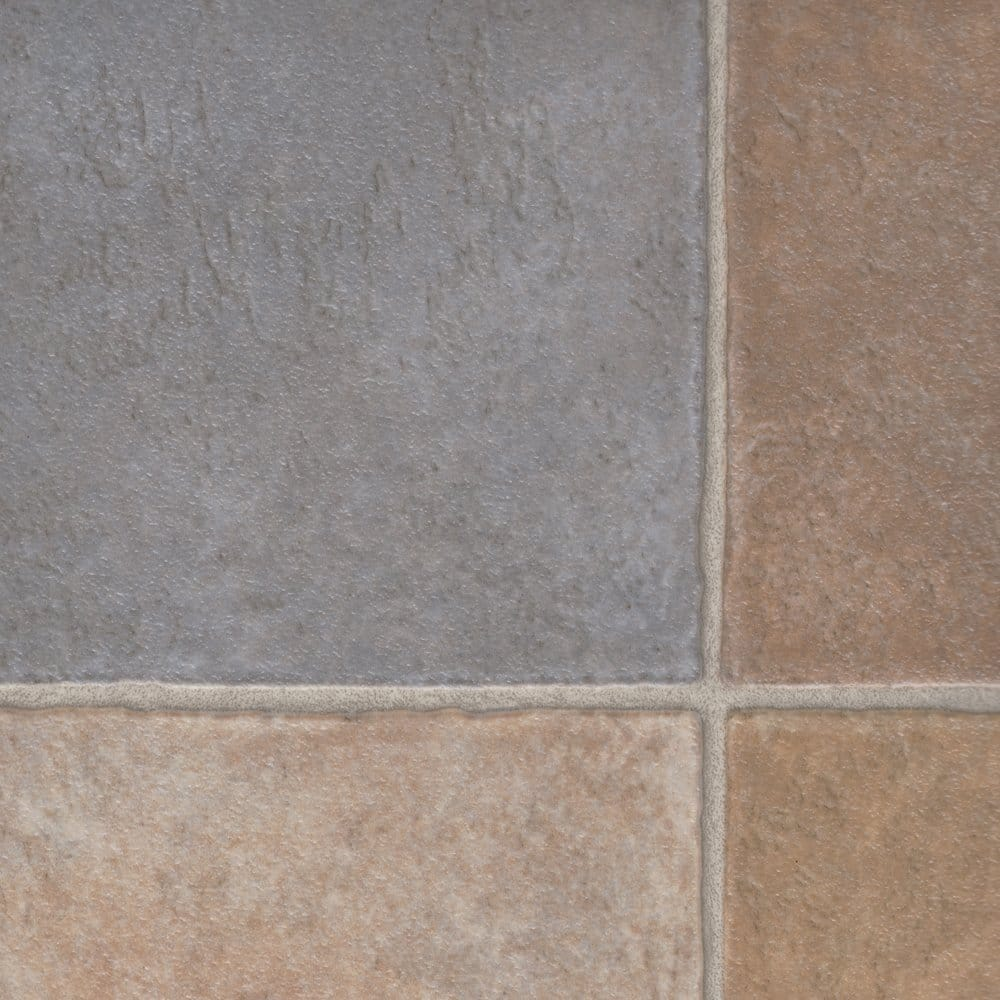 Columbus seaford 429 tile cushioned vinyl flooring for Cushioned vinyl flooring