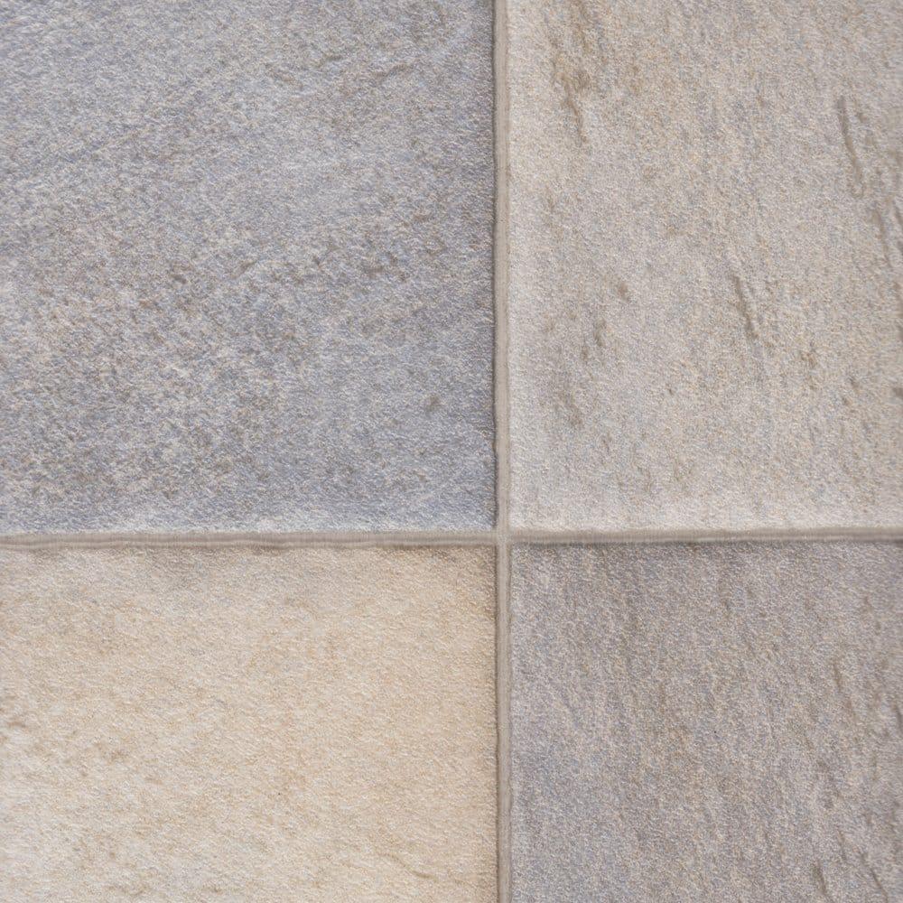 Columbus sego 137 tile cushioned vinyl flooring for Cushioned linoleum flooring