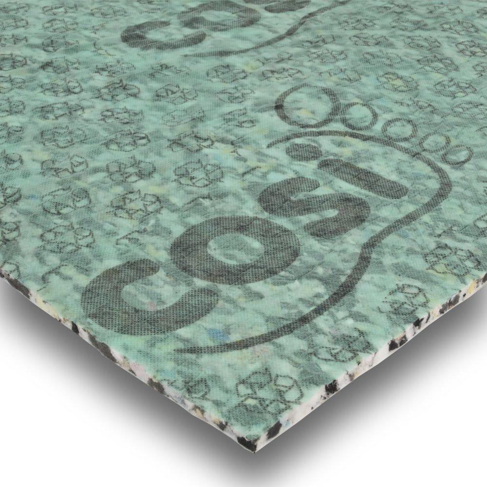 Airstep 10mm pu carpet underlay 15m2 for 8mm wood floor underlay