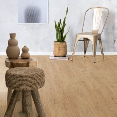 Delgado - 10mm Laminate Flooring - Antique Oak