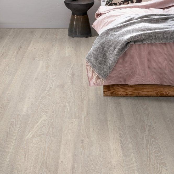Delgado - 10mm laminate flooring - Calico Cream