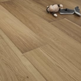 Diamond Series Engineered Flooring 14/3mm x 240mm Oak Brushed and Oiled 2.736m2