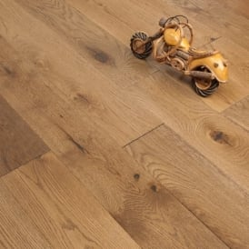 Diamond Series Engineered Flooring 20/4mm x 150mm Oak Smoked Brushed and Lacquered 1.65m2