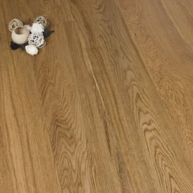 Diamond Series Engineered Flooring 20/4mm x 190mm Oak Brushed and Lacquered 1.805m2