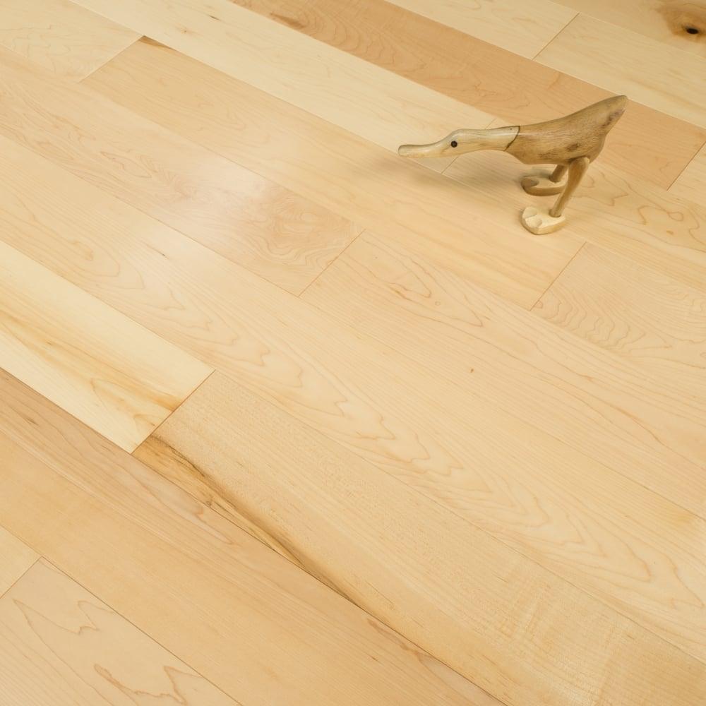 Edmonton 14mm Engineered Maple Flooring Lacquered 1