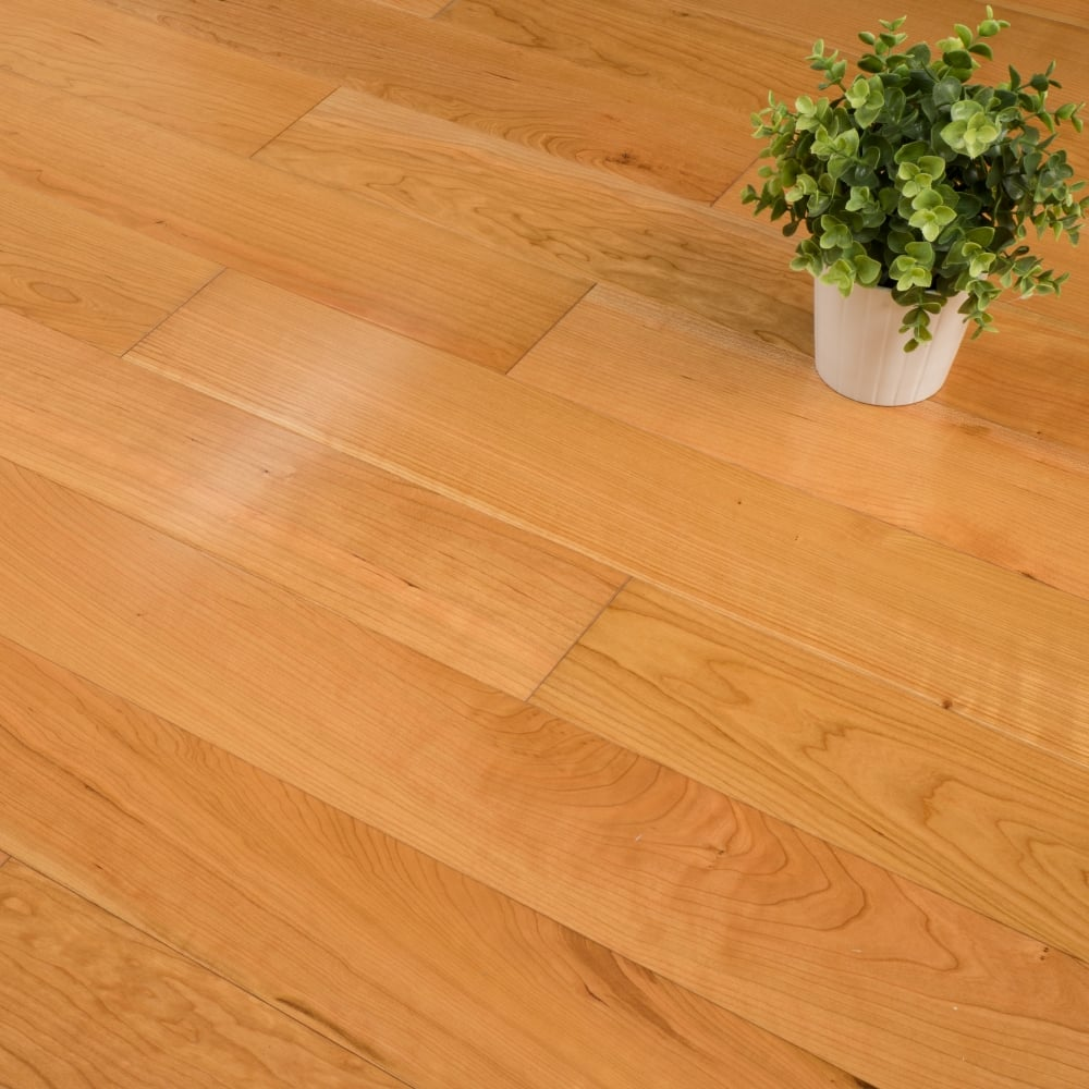Manchester Cherry Flooring: Edmonton Engineered Oak Flooring 14/3mm X 125mm Cherry