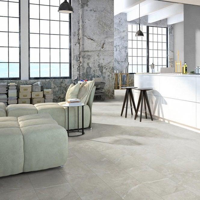 Elite Stone - 8mm Laminate Flooring - Desert Marble