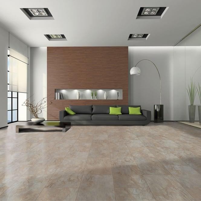 Elite Stone - 8mm Tile Effect Laminate Flooring - Marble