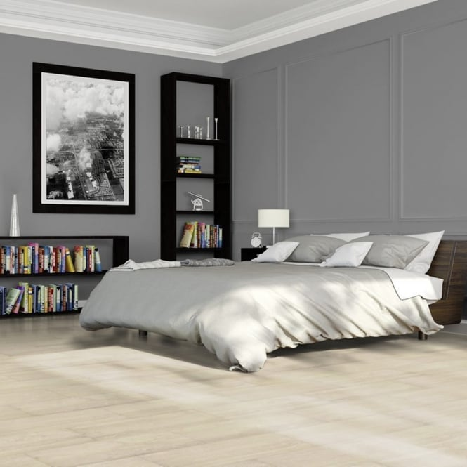 Elite Stone 8mm Tile Effect Laminate Flooring White