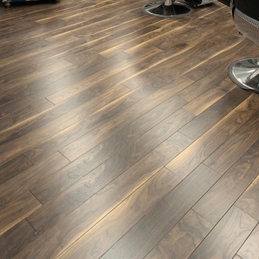 Emperor - 12mm Laminate Flooring - Dark Walnut