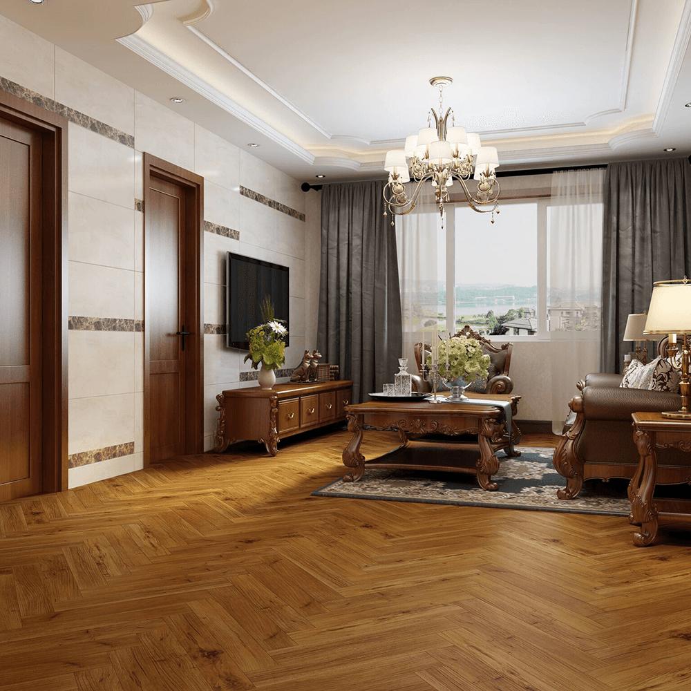 Emperor 12mm Laminate Flooring Golden Walnut