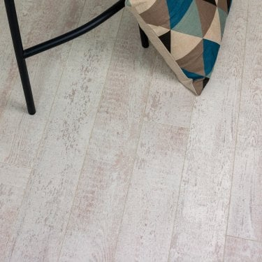 Emperor - 12mm Laminate Flooring - Weathered White