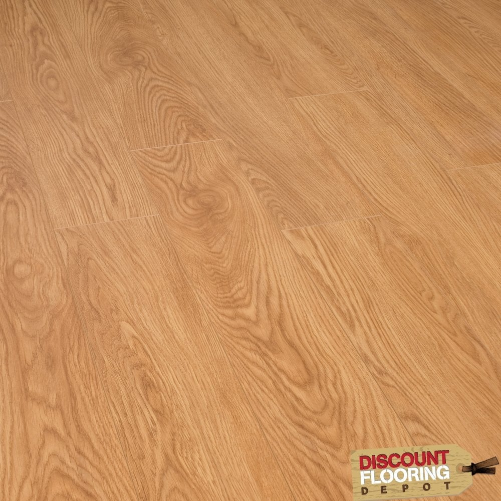 Emperor chicago oak 12mm v groove ac3 from for Laminate flooring chicago