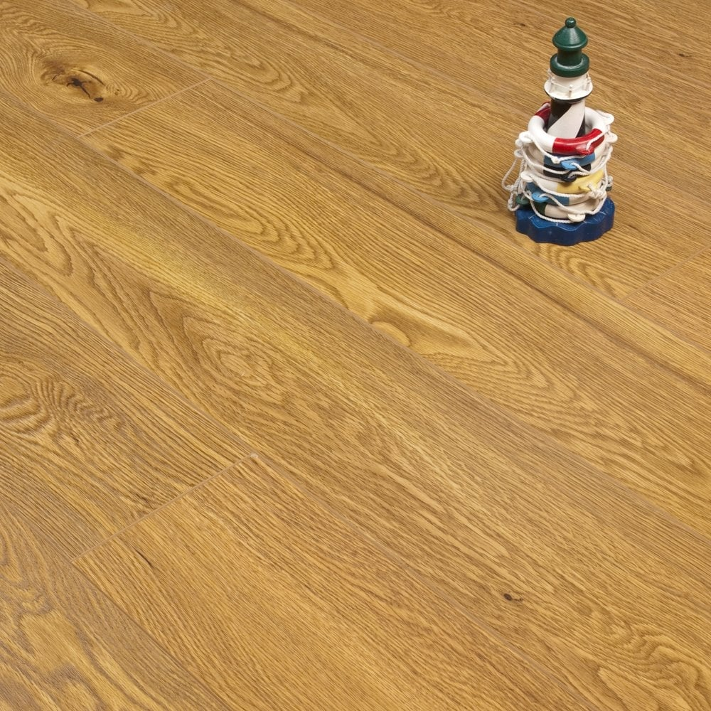 Emperor Golden Oak 12mm X 166mm V Groove AC3 1.21m2