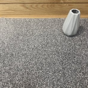 Essential 73 - Mid Grey Carpet - Short Pile Height / Light Density