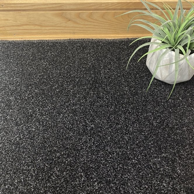 Essential 78 - Black Carpet - Short Pile Height / Light Density