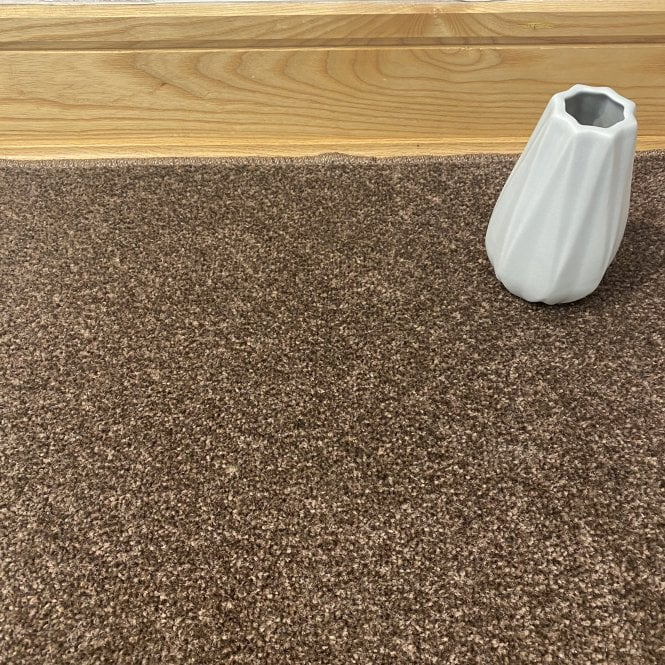Essential 92 - Dark Brown Carpet - Short Pile Height / Light Density