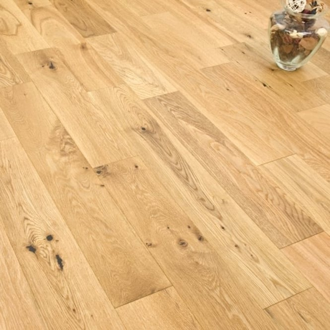Eternity - 14mm x 125mm Engineered Oak Flooring - Brushed and Oiled