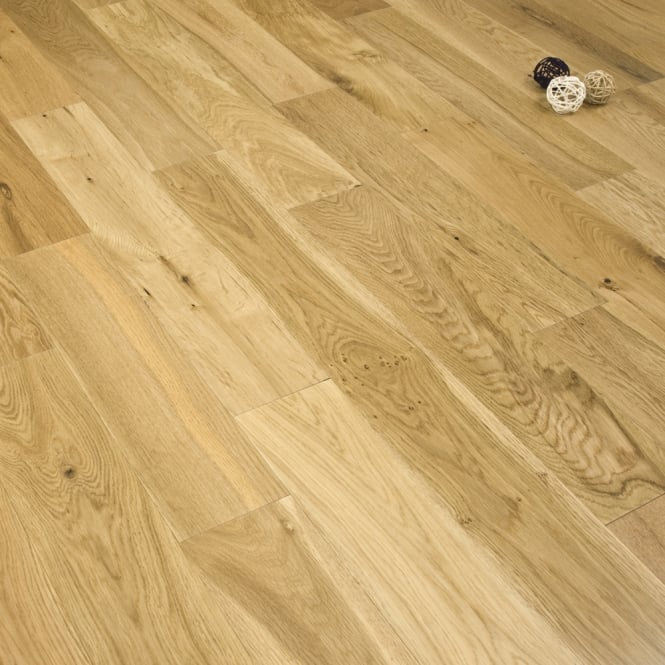 Eternity - 14mm x 125mm Engineered Oak Flooring - Lacquered