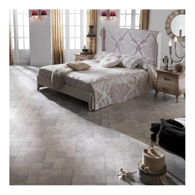 Executive 8mm Tile Effect Laminate Flooring Grey Slate 232m2