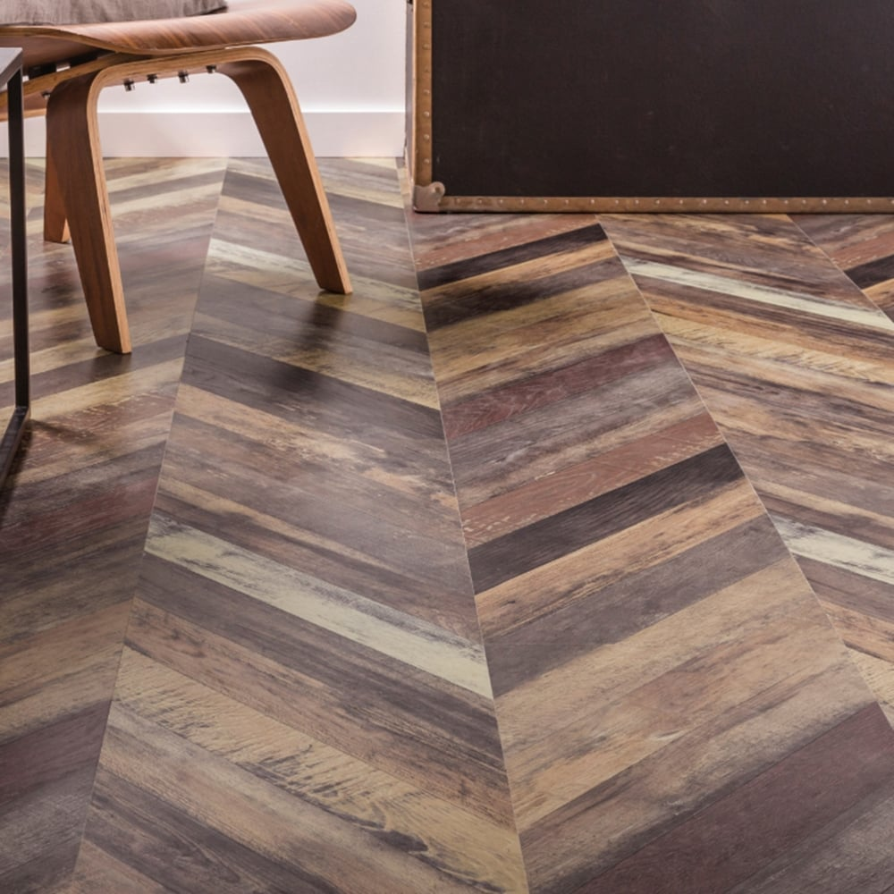 Executive Herringbone 12mm Laminate Flooring Multi Parquet 1 39m2