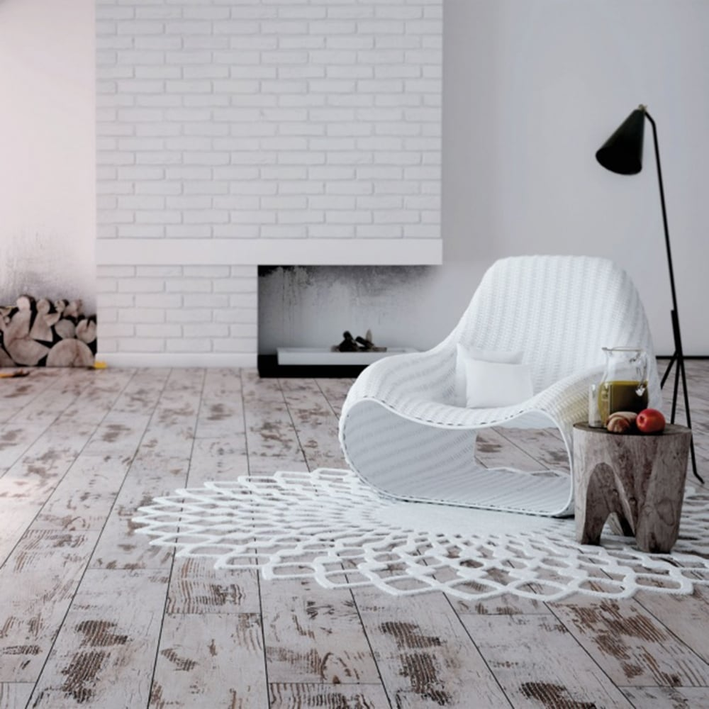 Explore 8mm Laminate Flooring Distressed White Oak 2