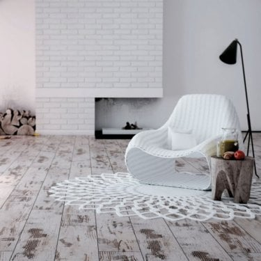 Explore - 8mm Laminate Flooring - Distressed White Oak
