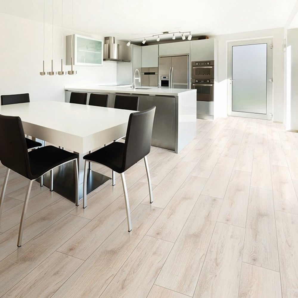 Explore 8mm Laminate Flooring Hastings Light Oak 2
