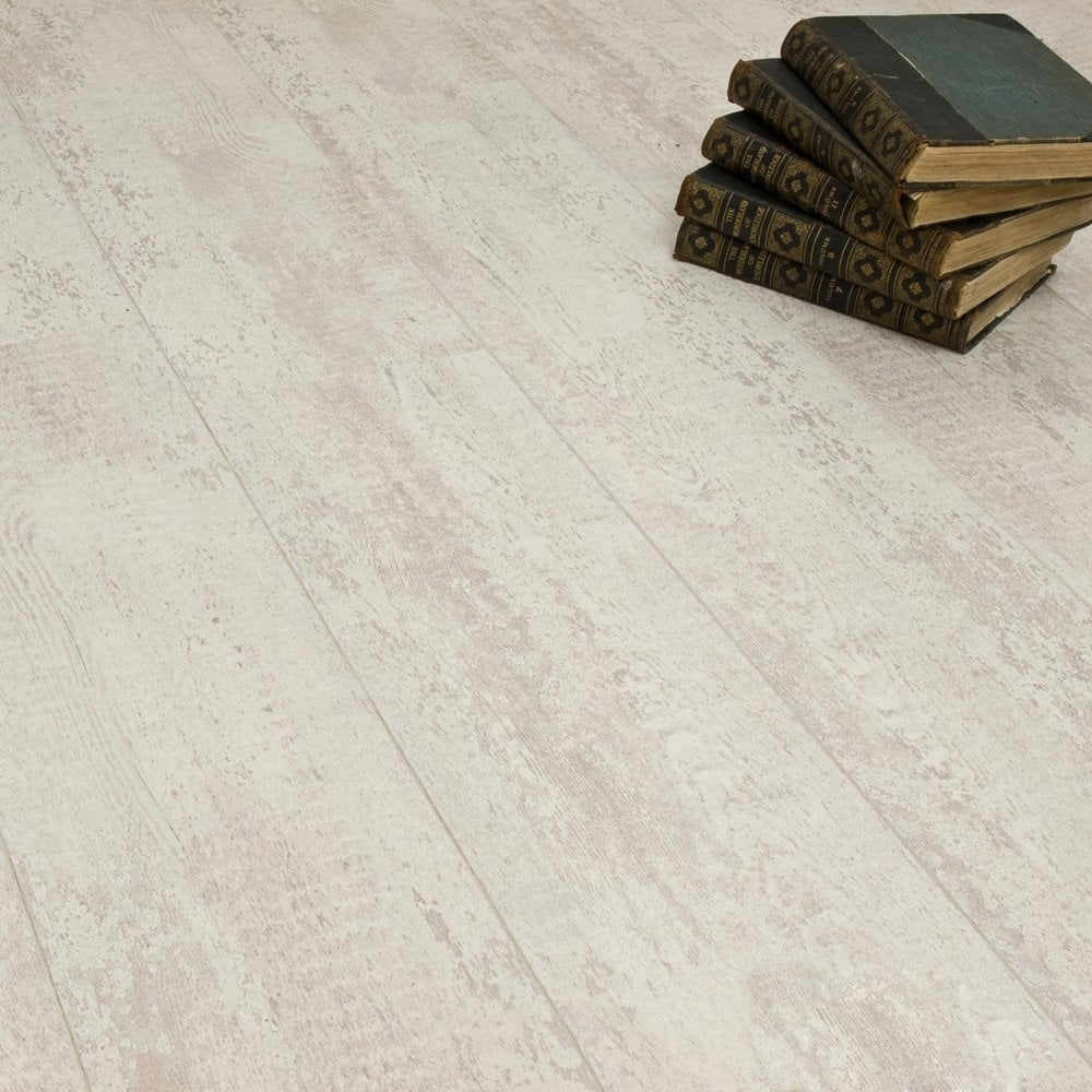 Expression grand white 8mm laminate flooring v groove ac4 for White laminate flooring