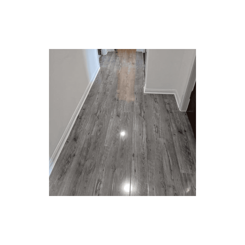 High Gloss Grey Laminate Flooring, Dark Grey Laminate Flooring Ideas
