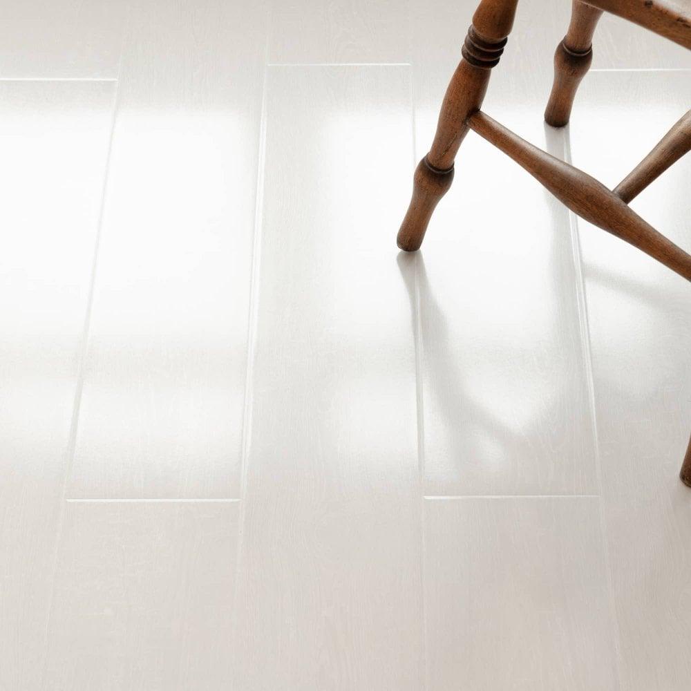 High Gloss White Laminate Flooring, White Laminate Flooring Home Depot