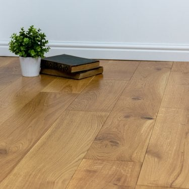 Gold Series - 14mm x 180mm Engineered Oak Flooring - UV Lacquered - Limited Stock