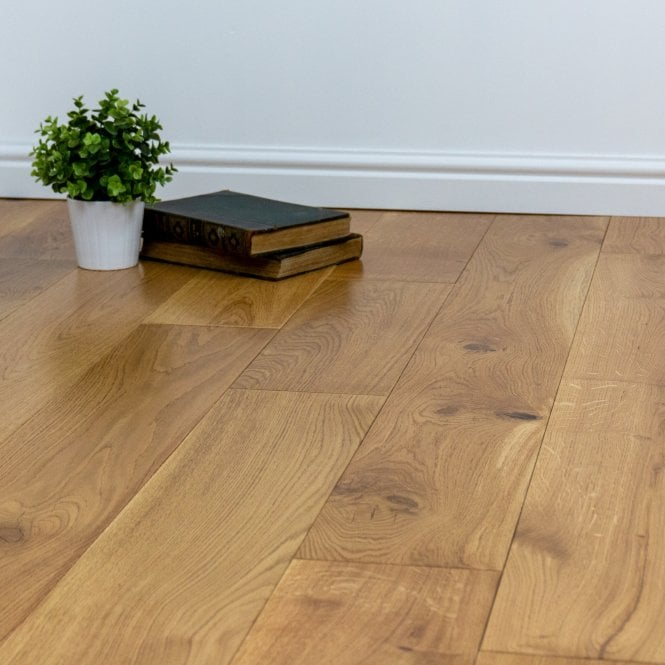 Gold Series - 14mm x 180mm Engineered Oak Flooring - UV Lacquered