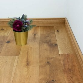 Gold Series - 18mm Solid Oak -Brushed & Oiled