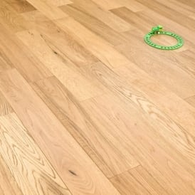 Gold Series Engineered Oak Flooring 14/3mm x 125mm Brushed and Lacquered 1.8m2