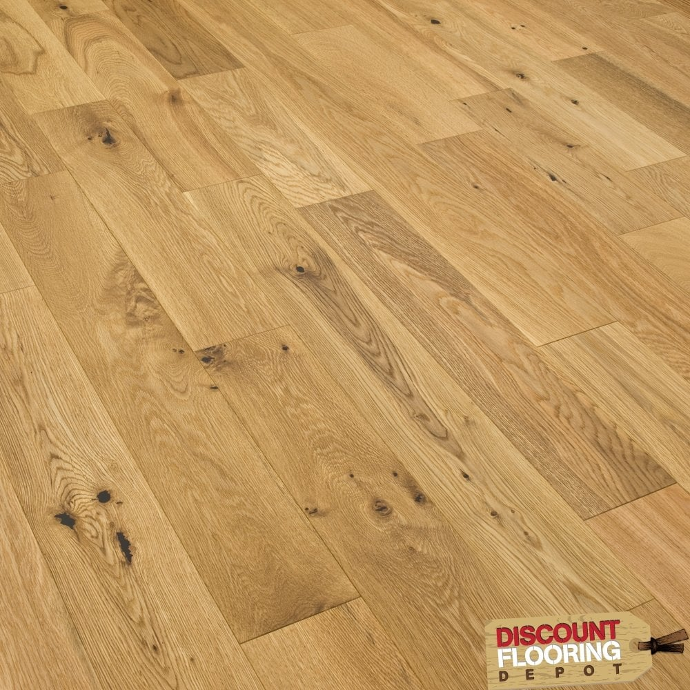 Gold series engineered flooring oak brushed and oiled 14 for Engineered oak flooring