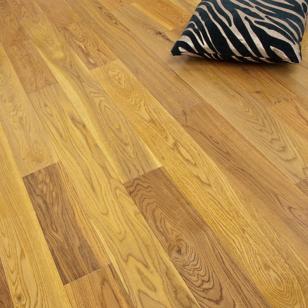 gold series engineered flooring oak lacquered 14 3mm x 125mm