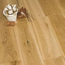 Gold Series Engineered Oak Flooring 18/4 x 120mm UV Brushed and Lacquered 1.152m2