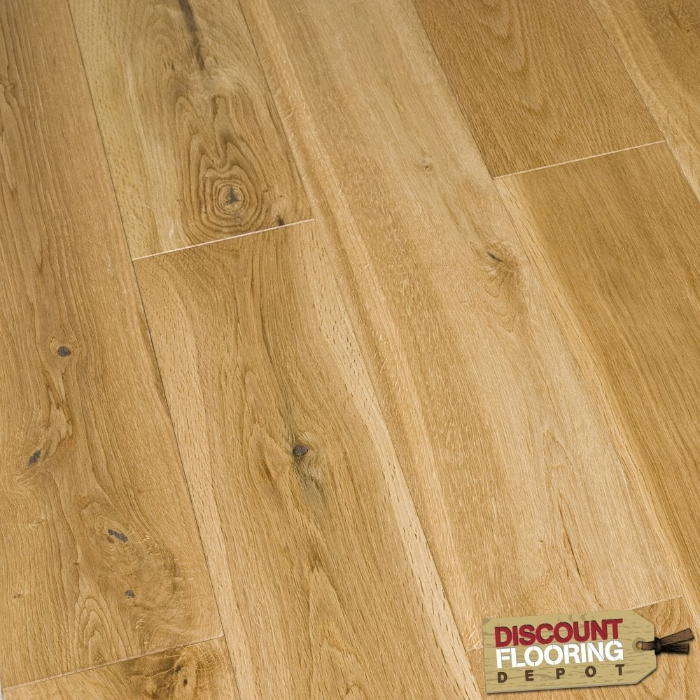 Gold Series Engineered 18 4 X 120mm Oak Uv Brushed And