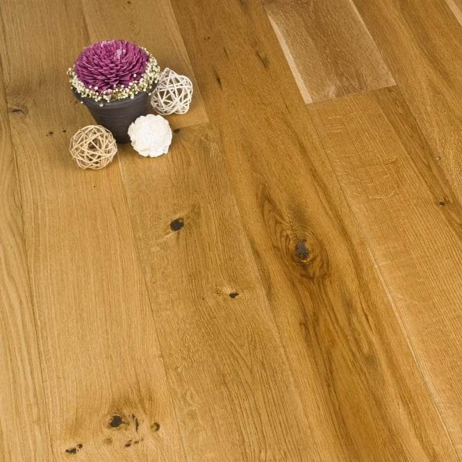 Gold Series Engineered Oak Flooring 18/4 x 120mm UV Brushed and Oiled 1.152m2