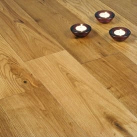 Gold Series Solid Oak Flooring 18mm x 120mm Brushed and Oiled 1.152m2