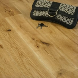 Gold Series Solid Oak Flooring 18mm x 120mm Brushed and Oiled 2.112m2