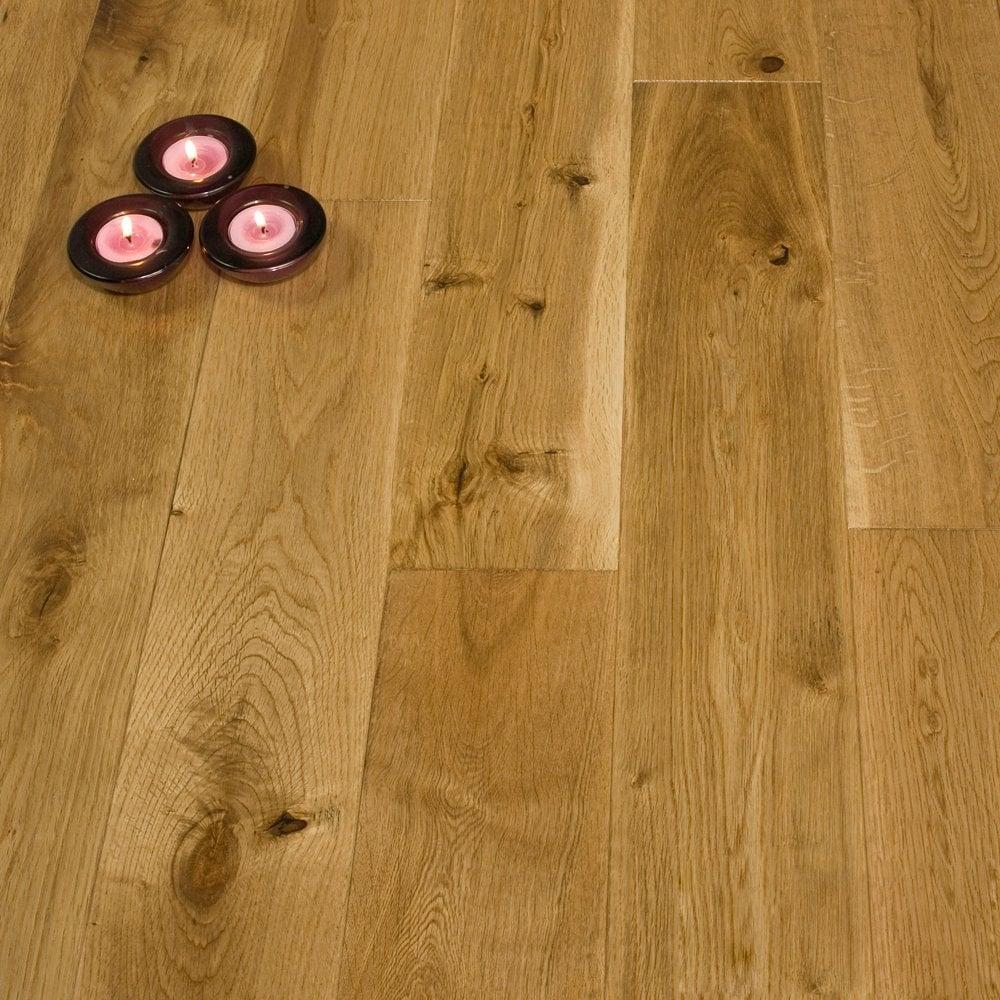 Gold Series Solid Oak Flooring 18mm X 120mm