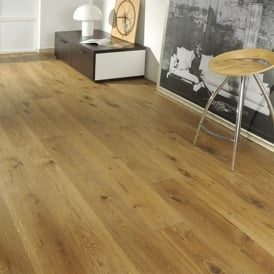 Gold Series Solid Oak Flooring 18mm x 120mm UV Lacquered 1.152m2